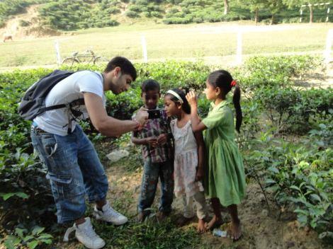 Kids in Sylhet